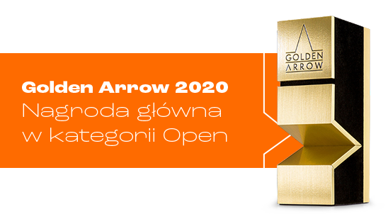 Golden Arrow 2020 Statuette goes to us in open category